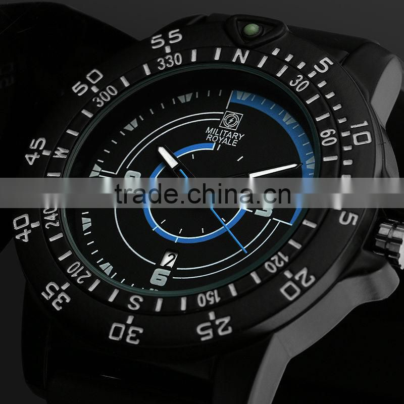 2014 Wholesale Military Pilot Aviator Army Style Watch