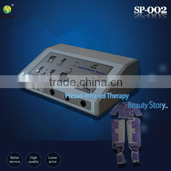 newest desktop pressotherapy beauty machine for weight loss SP-002