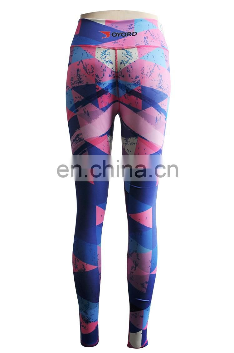 compression pants female sports fitness pants tight running stretch yoga cross-country quick-drying of track and field