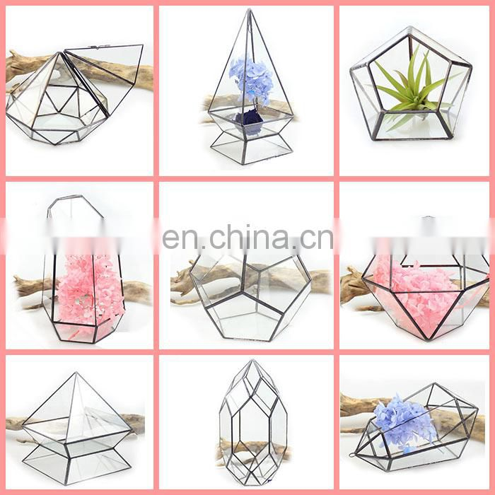 terrarium geometric glass terrarium wholesale desktop decor