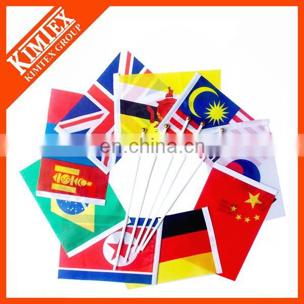 Custom hand held flags