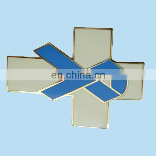 custom cloisonne novelty lapel pins with gold plating