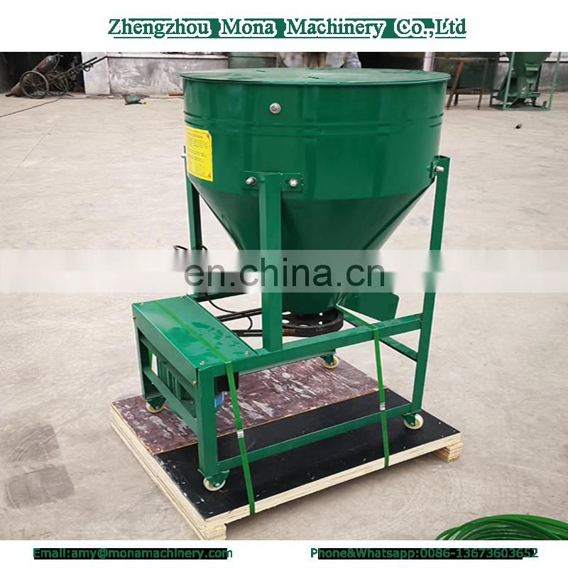 Best price fodder mixer machine/rice wheat vegetable seeds mixer