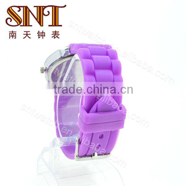 SNT-SI020 lady silicone watch fashion custom silicone wrist watches