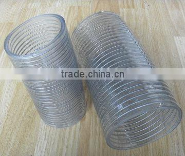 "4"" pvc wire spring suction hose"