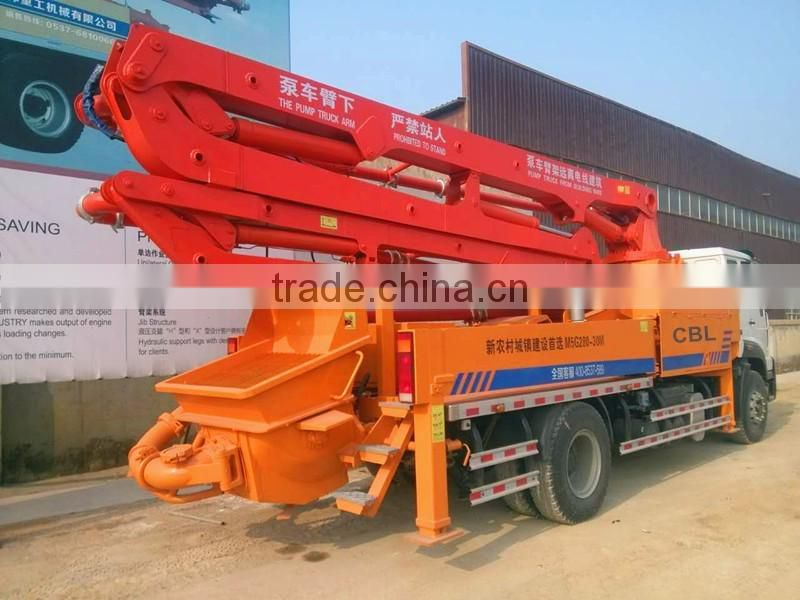 used schwing concrete pump truck