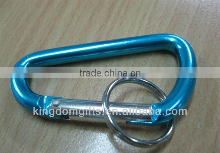 Hot Sales Aluminum Carabiner with lanyard