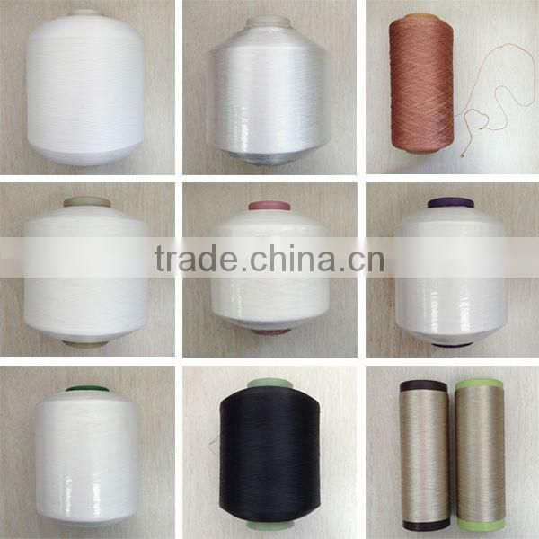Factory price 100% dyed rayon viscose filament yarn 150d/30f for spinning yarn