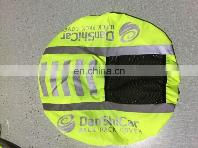 ENISO 20471 High Visibility Fluorescent Rucksack Covers Bag Cover