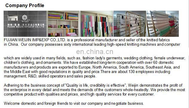 jacquard knitting elastic lace fabric for fashion woman dresses