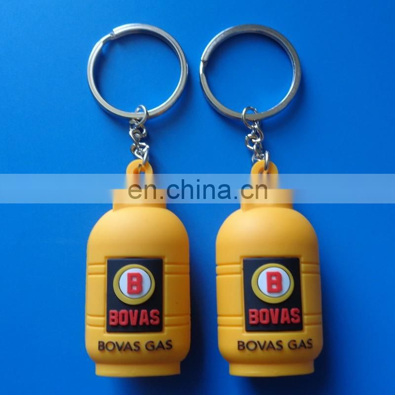 high quality 3D horse logo design company logo pantone color filled customized soft PVC keychain