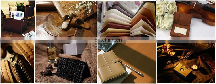 Alibaba Supplier Good Handmade Leather Desk Set Note Case