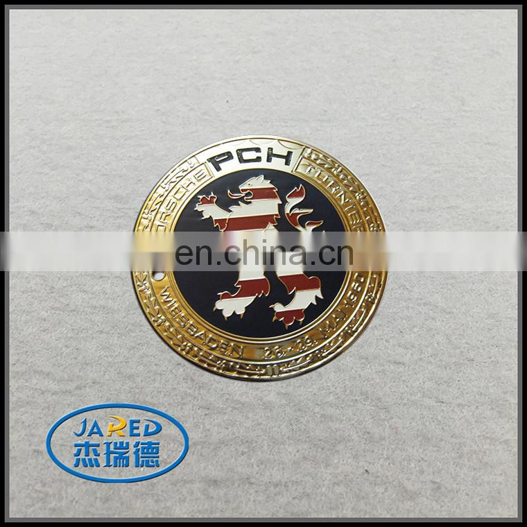 Luxury Car Grill Emblem Metal Label