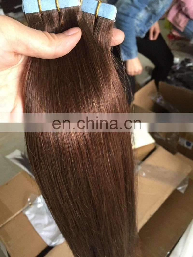 Top grade fast shipping cheap african american human tape hair extensions,hair extension adhesive tape