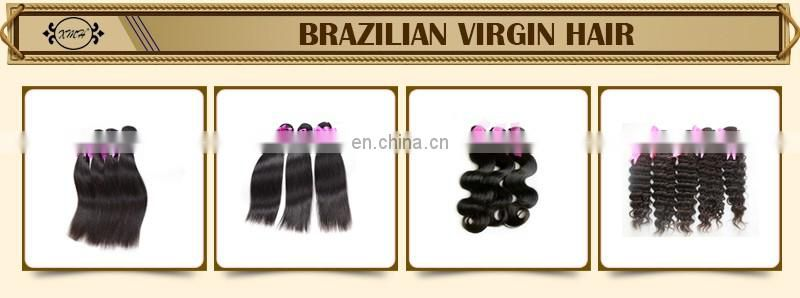 2016 Top Quality Double Drawn Hair Weft Hair ExtensionTop Grade grade 7a virgin brazilian hair