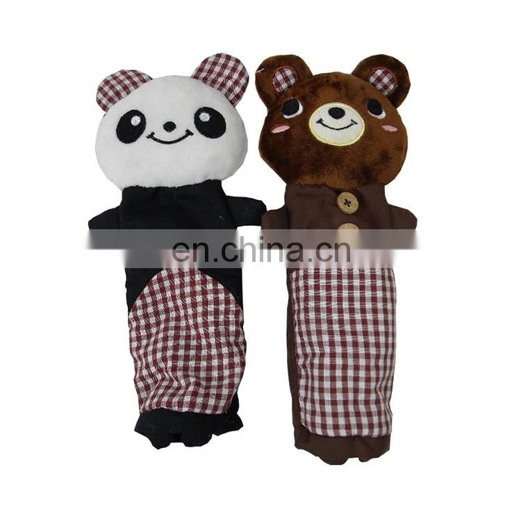 Funny gift souvenir teddy bear pencil case creative design animal shaped pencil case for kids