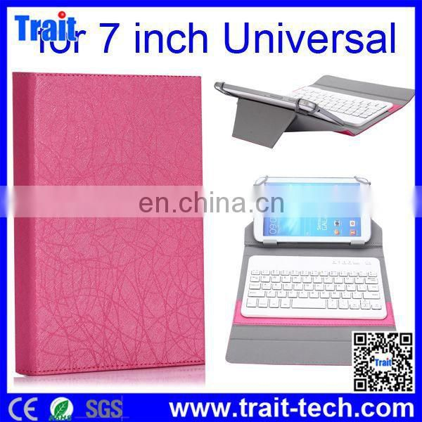 Universal Leather Case with Bluetooth Keyboard for 7 inch Android Tablet PC