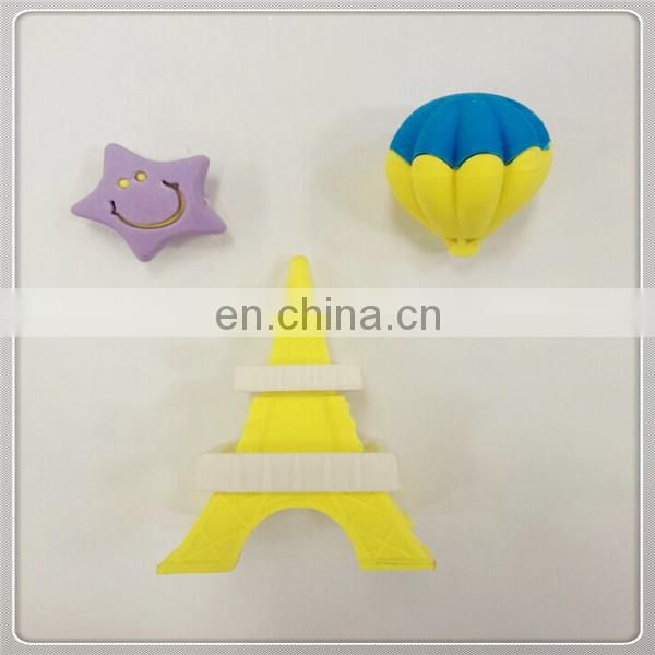 The 3D Eiffel Tower promotional gift erasers