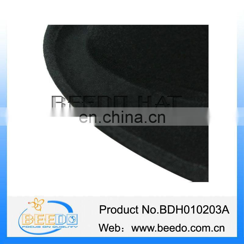 12b80e02ea581 Wholesale alibaba black mens gangster hat of Fashion Faux Wool Felt ...