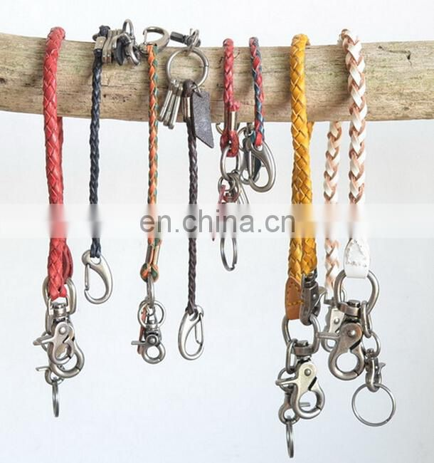 HOT SALE KEYRING FACTORY LEATHER KEYCHAIN WHOLESALE