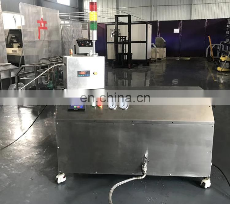 25KG/H Mini Small Laboratory Food Distribution Small Dry Ice Co2 Pelletizer Pelleting Machine