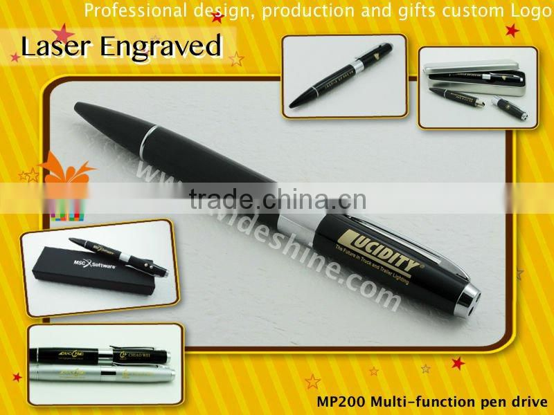 laser led pointer pen drive , ball pen , usb flash drive models 1GB to 16GB , wholesale alibaba