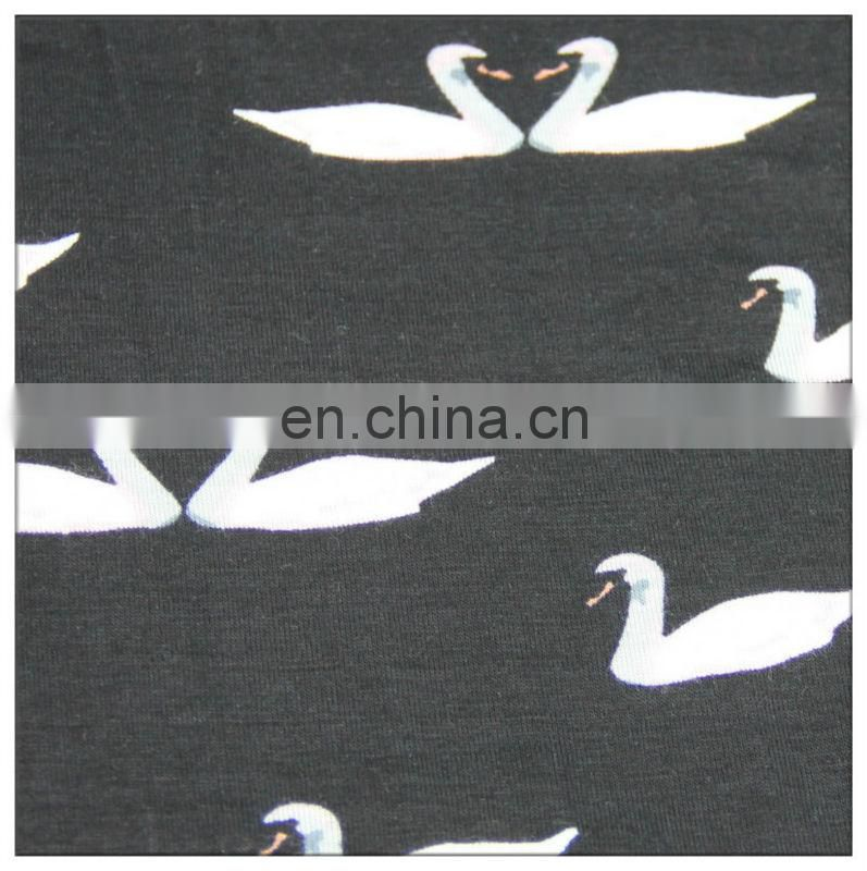 rayon spandex knit fabric price for women's garment