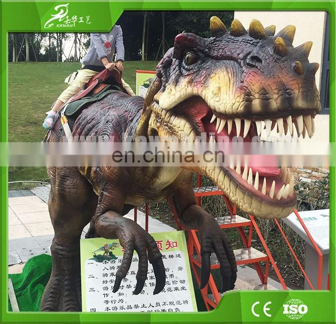 Indoor & outdoor amusement park equipment dinosaur rides