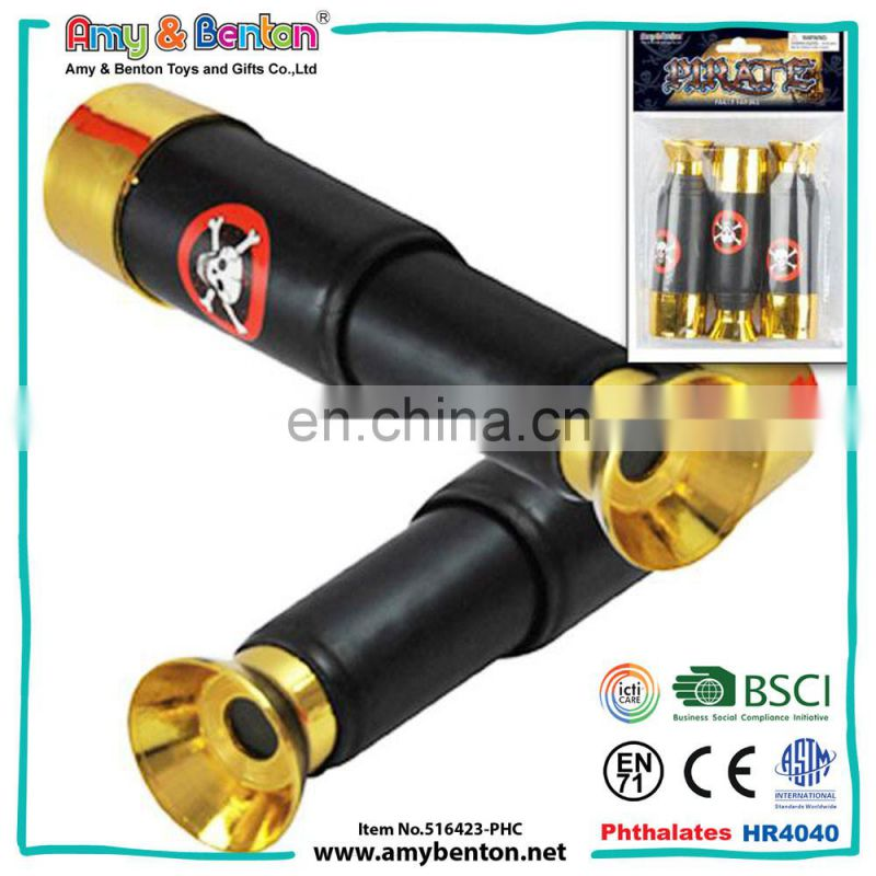 Education toy wholesale 45mm small pirate telescope toy