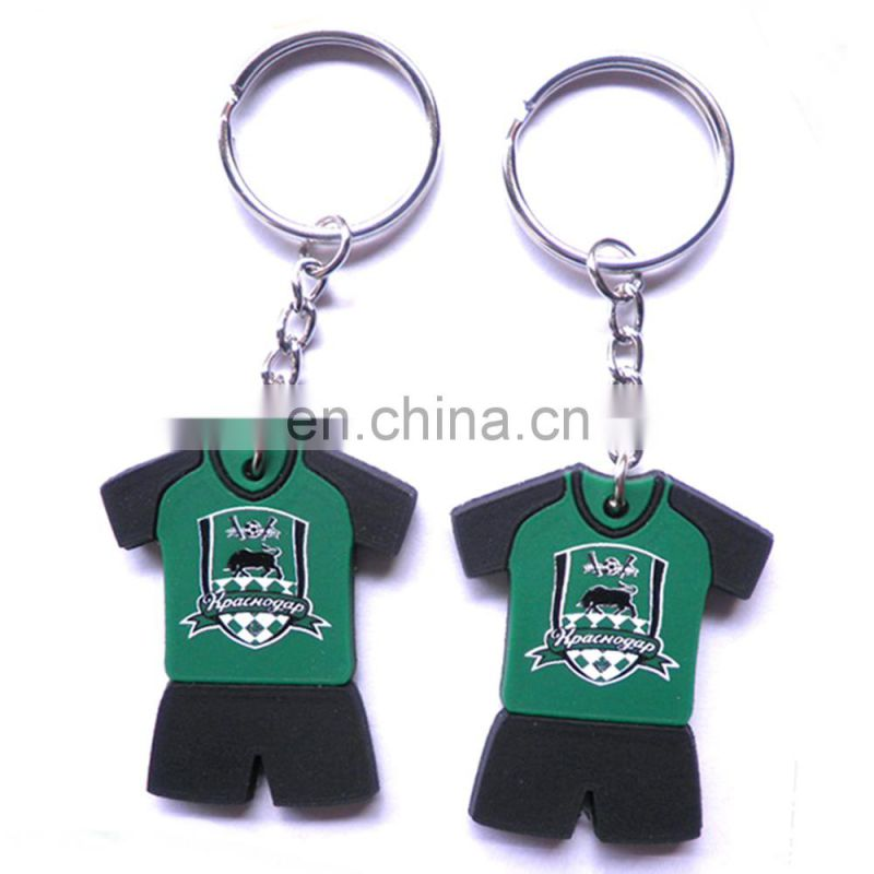 Summer promotional items football metal keychain for world cup brazil