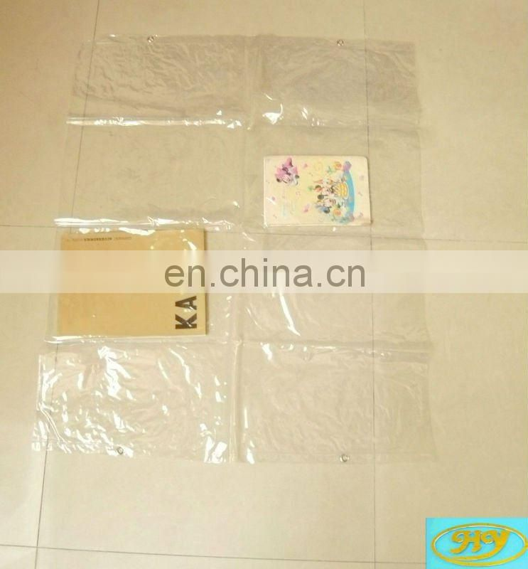 pvc sample display bag,plastic sim card holder,christmas sim card display holder