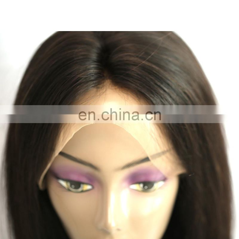 high quality 360 lace frontal wig human hair wig