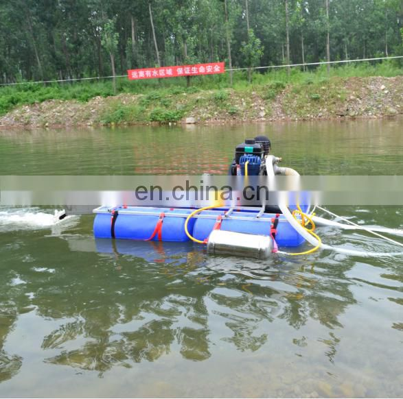 gold mining suction dredger boat for sale Image