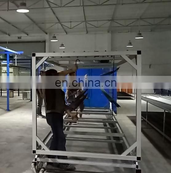 Electrostatic Compact Powder Coating Line High Quality