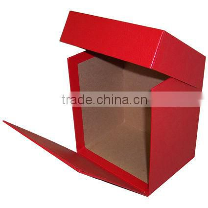 Red popular gift paper box