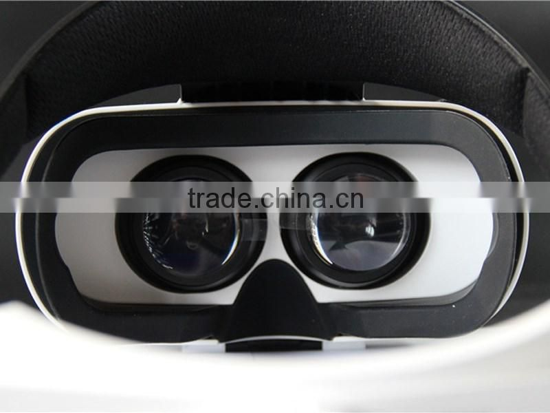 baofeng 4.0Virtual Reality 3D glasses a black helmet VR goggles for 4.7-5.5 inch Smartphones With Remote Control