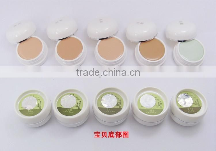 8pcs/lot Japan Brand Mingyan Naturactor Beauty Foundation Concealer Cream 9 Colors naturactor foundation
