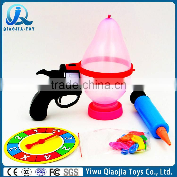 Tricky Toys Party Games Russian Roulette Model Balloon Gun Hot Sales