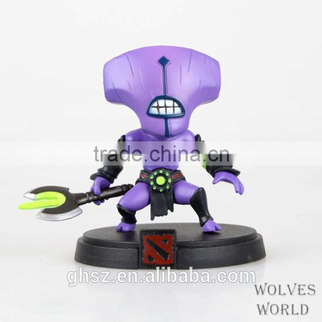 Guo hao custom hot toys resin dota2 toy staute