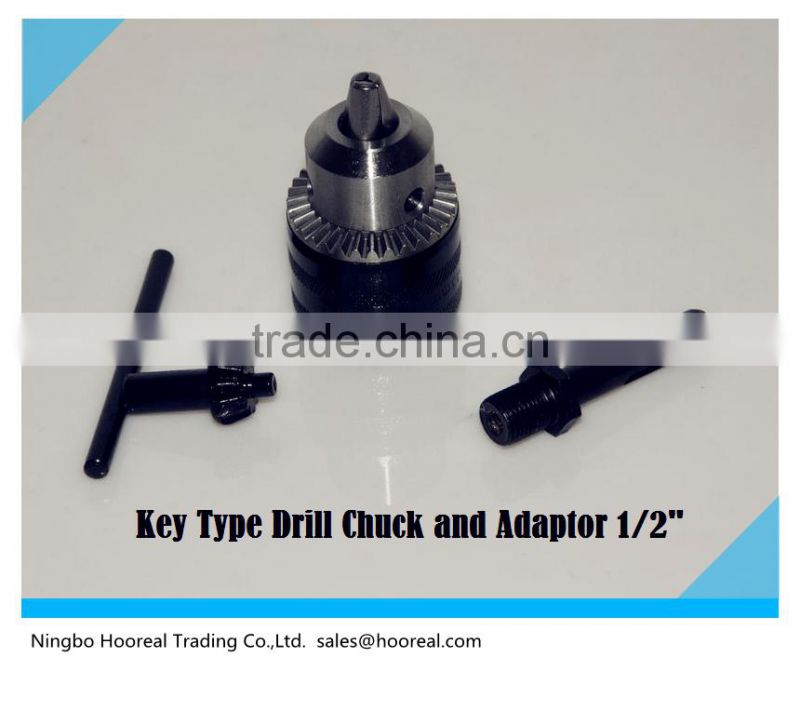 Quick Easy 2-13mm Keyless Impact Drill Chuck Hand Tool With Lock And SDS Adaptor/Power Drill Chuck Conversion Kit