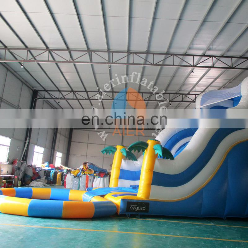 inflatable water pool for events, giant inflatable water slide for adult/kids, inflatable jumping