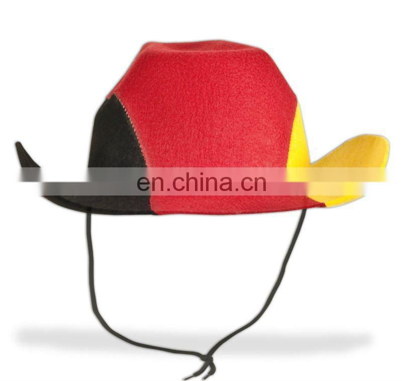 New felt Portugal Cowboy football Hat