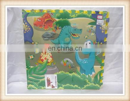 foam puzzle play mats Soft EVA grain style puzzle kid's foam baby play mat