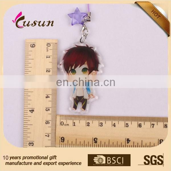 Fashion cheap keychain,custom keyring