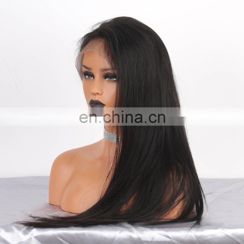 silk base full lace human hair wig