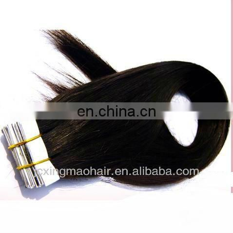 100%European Remy Virgin Human Hair Tape Hair Extension In Dubai