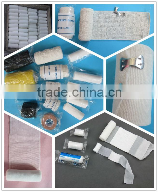 Self-adhesive First aid bandage