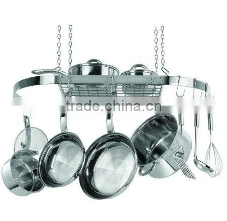 Kitchen Metal Pot Rack