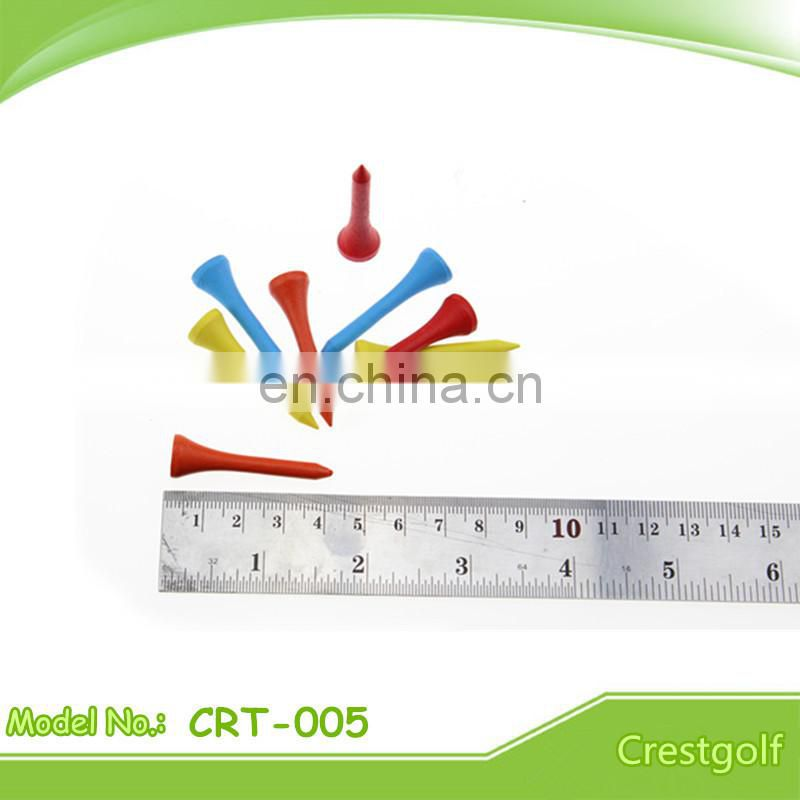 Unique Customized Color Wooden Golf tee Bulk Golf Tees