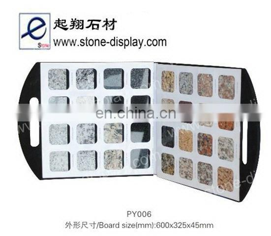 Stone display rack with unique design